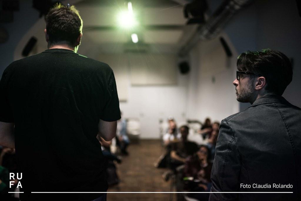 Masterclass ARF! in RUFA con Mauro Uzzeo e Fabio Guaglione