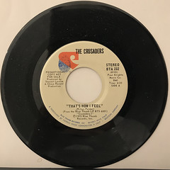 THE CRUSADERS:THAT'S HOW I FEEL(RECORD SIDE-A)