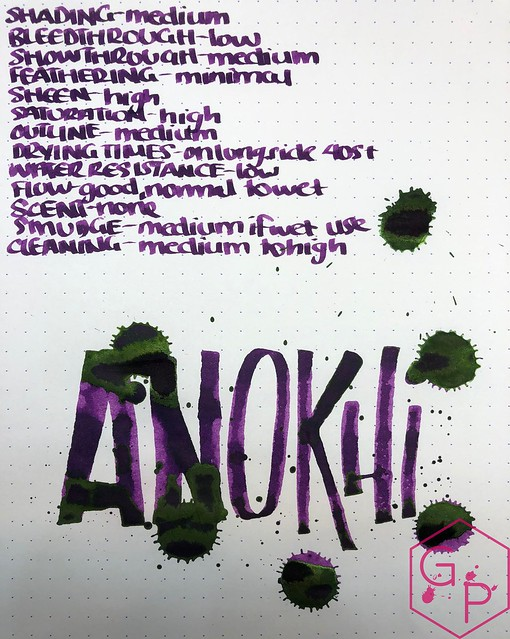 Krishna Inks Anokhi Fountain Pen Ink Review @PenChalet 13