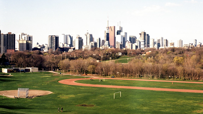 Toronto Skyline from Broadview in Colour