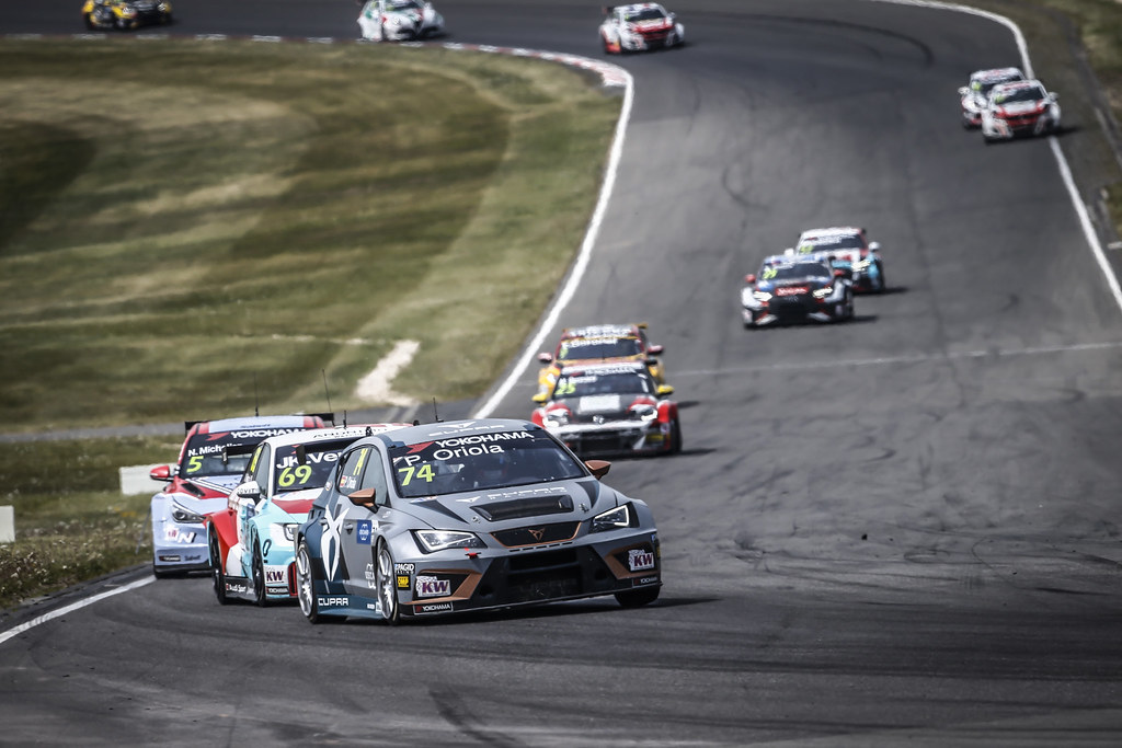 Start race 3 during the 2018 FIA WTCR World Touring Car cup of Nurburgring, Nordschleife, Germany from May 10 to 12 - Photo Francois Flamand / DPPI
