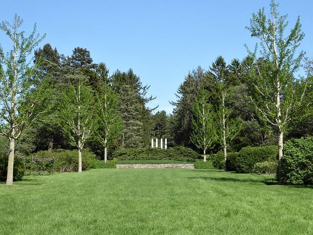 Lisle, IL, Morton Arboretum, Four Pillars of Wisdom