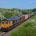 66723 ZA723 Chinnook 4M29 Felixstowe to Birch Coppice at Brentingby Lag Lane