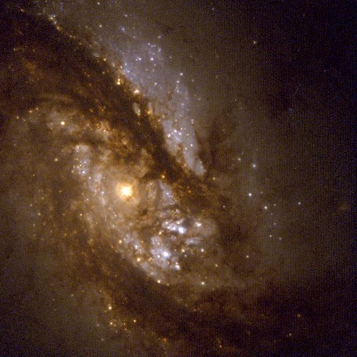 The Core of Barred Spiral Galaxy NGC 1365