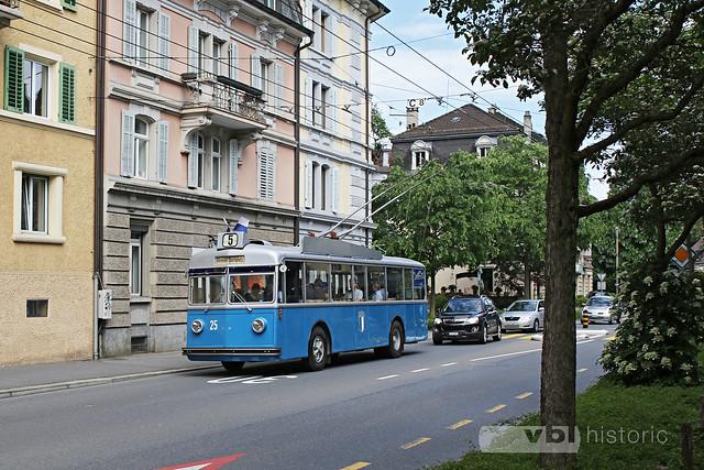 Trolleybus Nr. 25 Breitenlachen