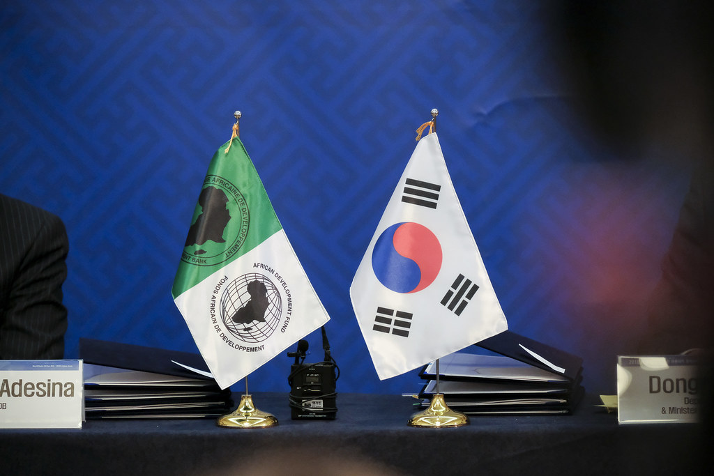 Busan AfDB Annual Meetings Day 2 - KOAFEC Press Conference