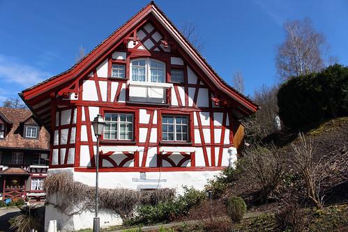 Fachwerkhäuser in Ottoberg