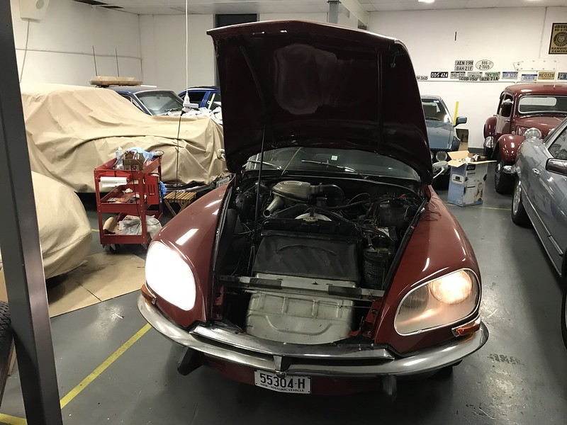 Citroen DS Main Beam