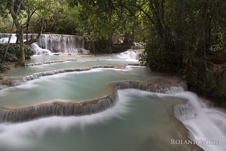 Laos - Kung Si Waterfalls