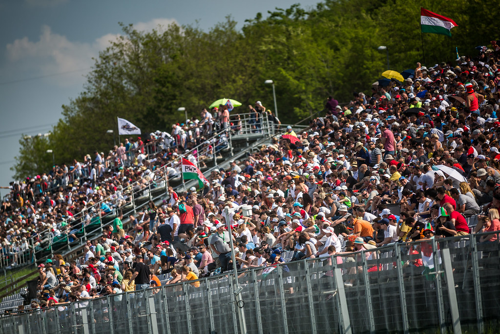 fans, Supporters, Public, Spectators during the 2018 FIA WTCR World Touring Car cup, Race of Hungary at hungaroring, Budapest from april 27 to 29 - Photo Thomas Fenetre / DPPI