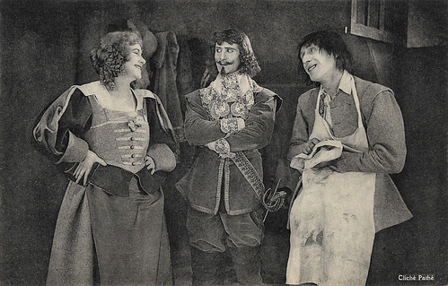 Jean Yonnel and Armand Bernard in Vingt ans après (1922)
