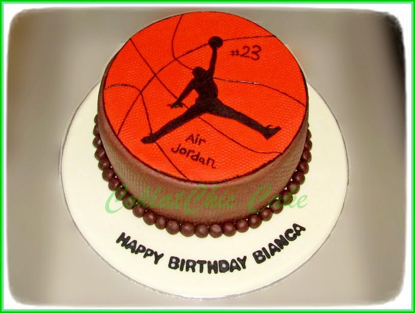 Cake Basket AIR JORDAN BIANCA 15 cm