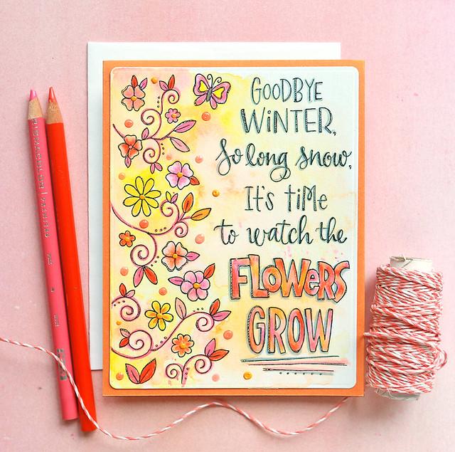 flowers grow