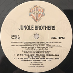 JUNGLE BROTHERS:ON THE ROAD AGAIN(LABEL SIDE-A)
