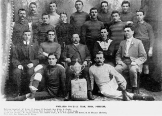 Wallaroo Rugby Union team from Roma, 1909