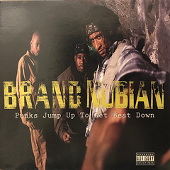 BRAND NUBIAN:PUNKS JUMP UP TO GET BEAT DOWN(JACKET A)