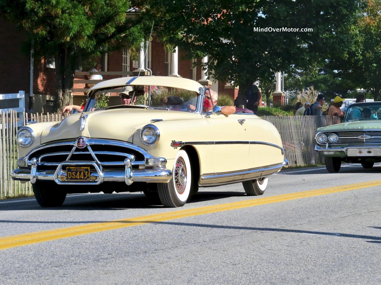 1952 Hudson Hornet Convertible Front