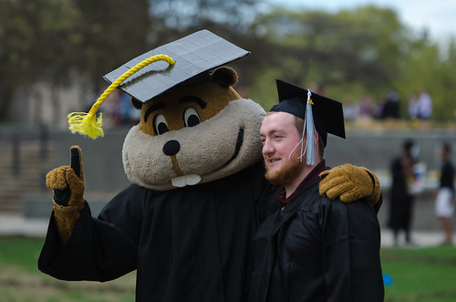 Goldy graduation