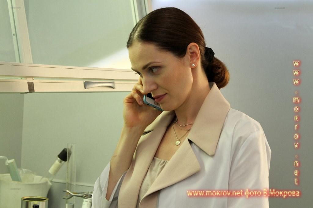 На сьемках Актриса - Тара Амирханова
