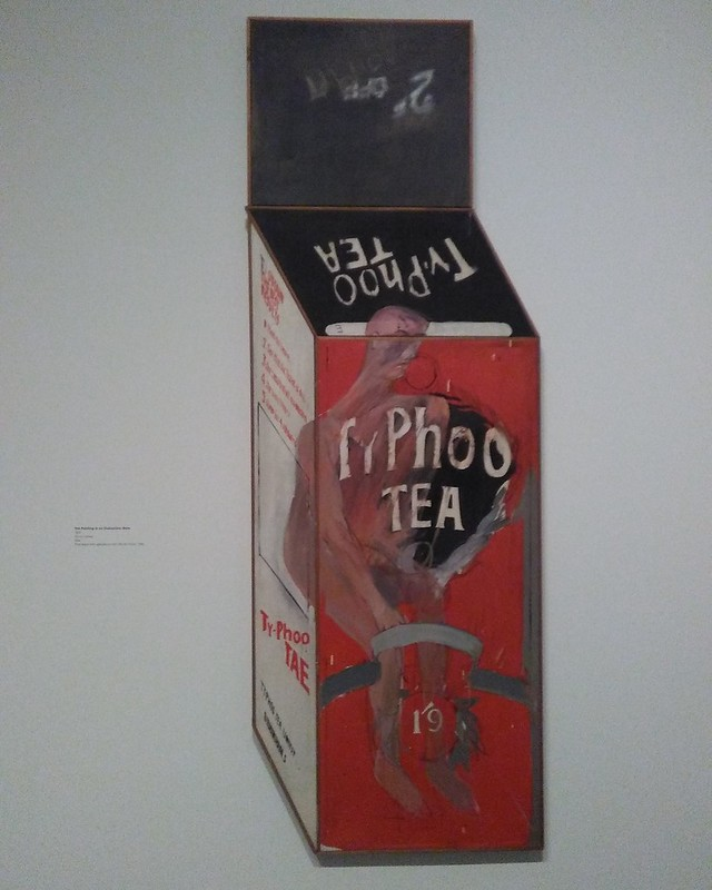 Tea Painting in an Illusionistic Style (1961) #newyorkcity #newyork #manhattan #metmuseum #davidhockney #hockney #latergram