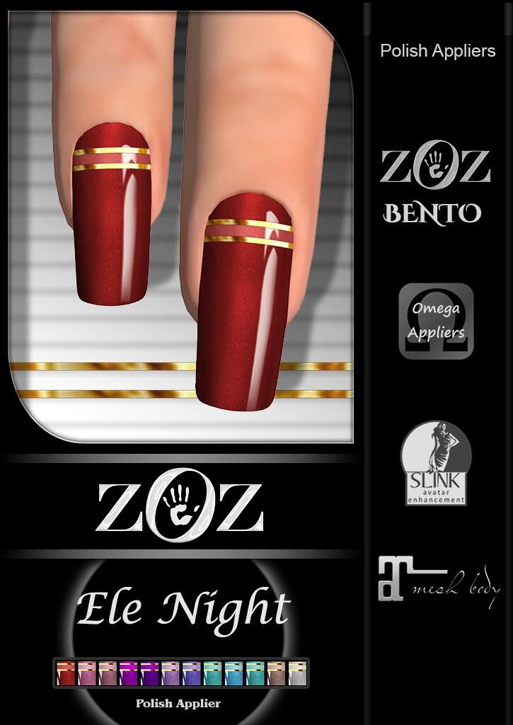 {ZOZ}  Ele Night Pix L