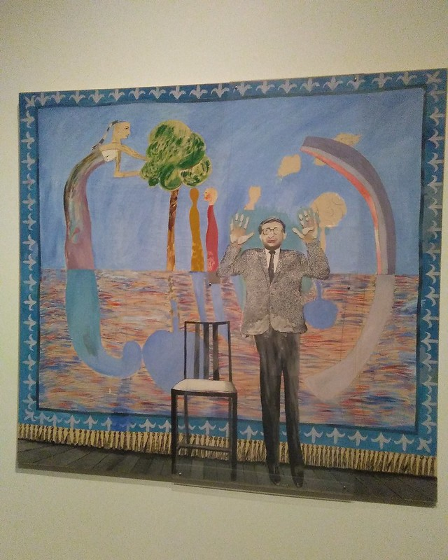 Play Within A Play (1963) #newyorkcity #newyork #manhattan #metmuseum #davidhockney #hockney #latergram