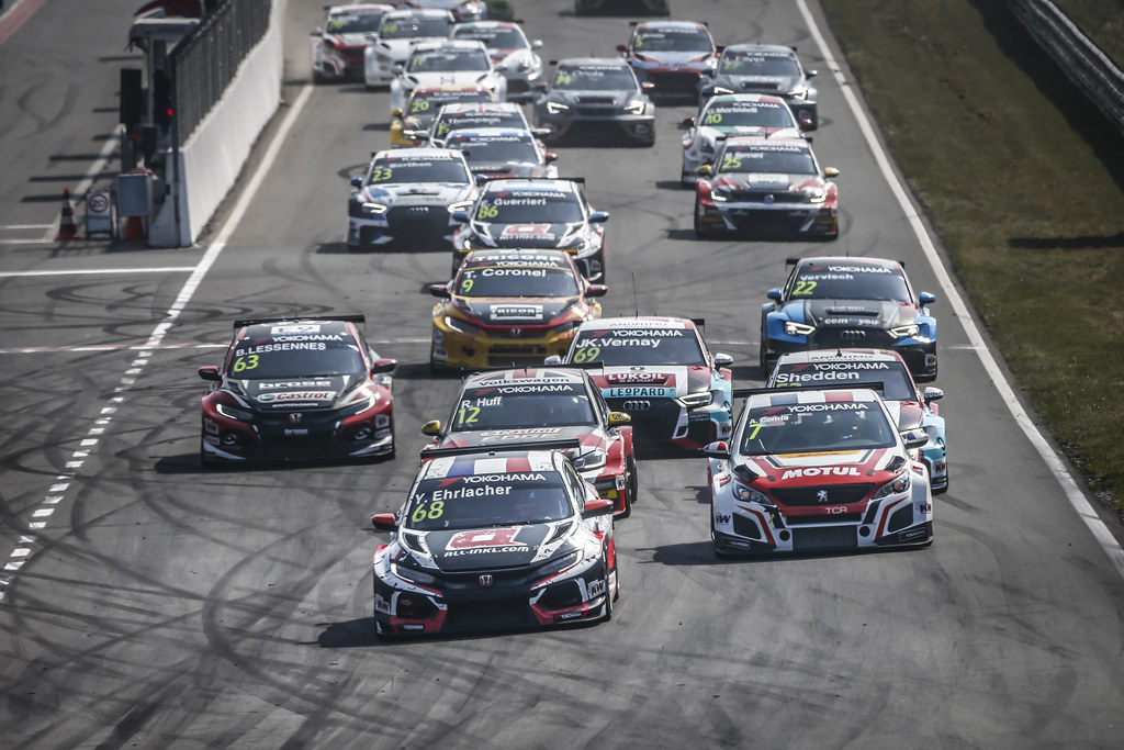 Start race 1 during the 2018 FIA WTCR World Touring Car cup of Zandvoort, Netherlands from May 19 to 21 - Photo Francois Flamand / DPPI