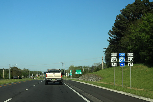 AL24 East - AL33 Signs - Moulton