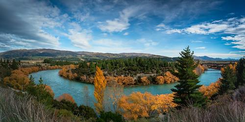autumn horseshoebend newzealand wanaka