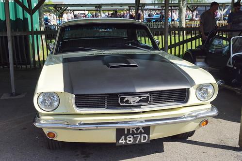 Ford Mustang 1966, Transatlantic Sunday (Britain verses USA), Goodwood Breakfast Club (6)