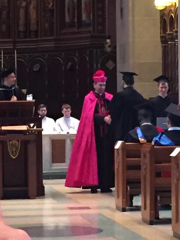 Deacon Robert Barnell's graduation