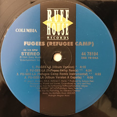 FUGEES:FU-GEE-LA(LABEL SIDE-A)