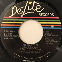 KOOL & THE GANG:FUNKY STUFF(LABEL SIDE-A)
