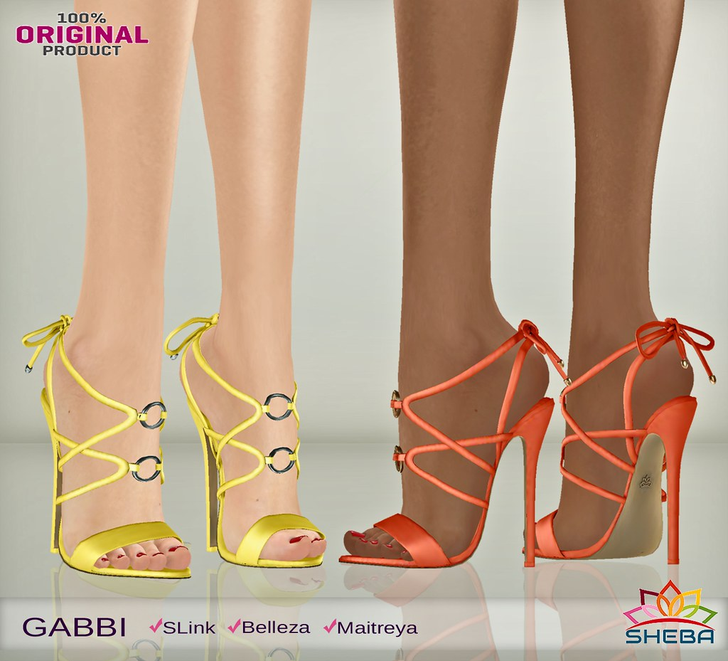 [Sheba] Gabbi Sandals - TeleportHub.com Live!