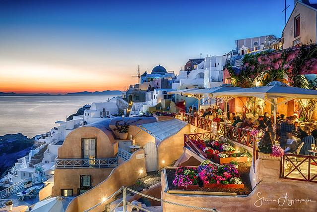 Oia, Santorini / Greece.