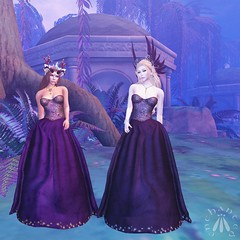 Two beautiful dresses