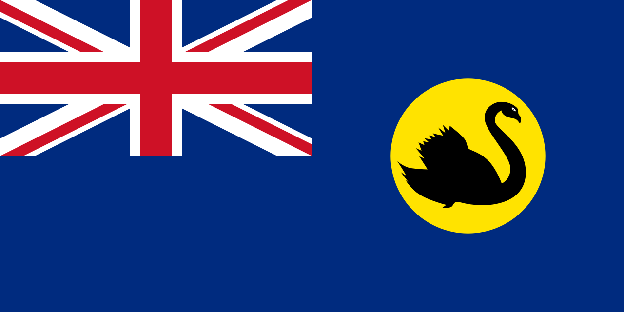 Flag of Western Australia, 1870-1953