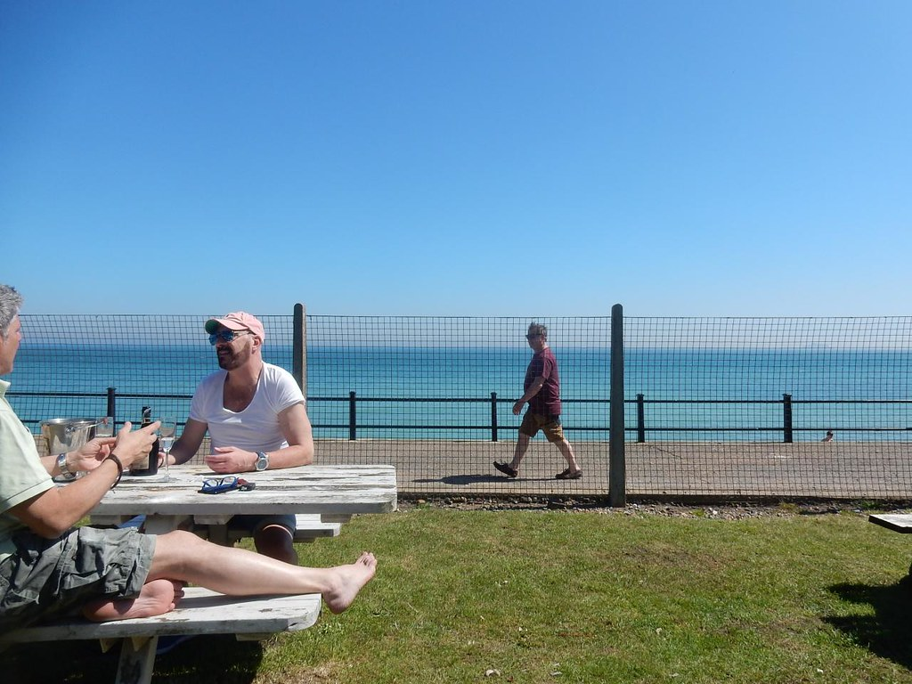 View from the Coastguards Deal to Dover