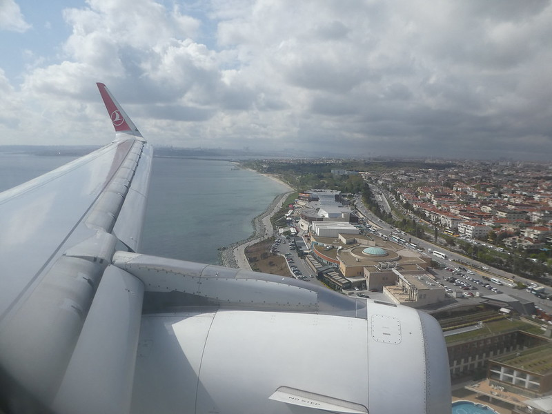 Views of the Turkish coast as we approach Istanbul