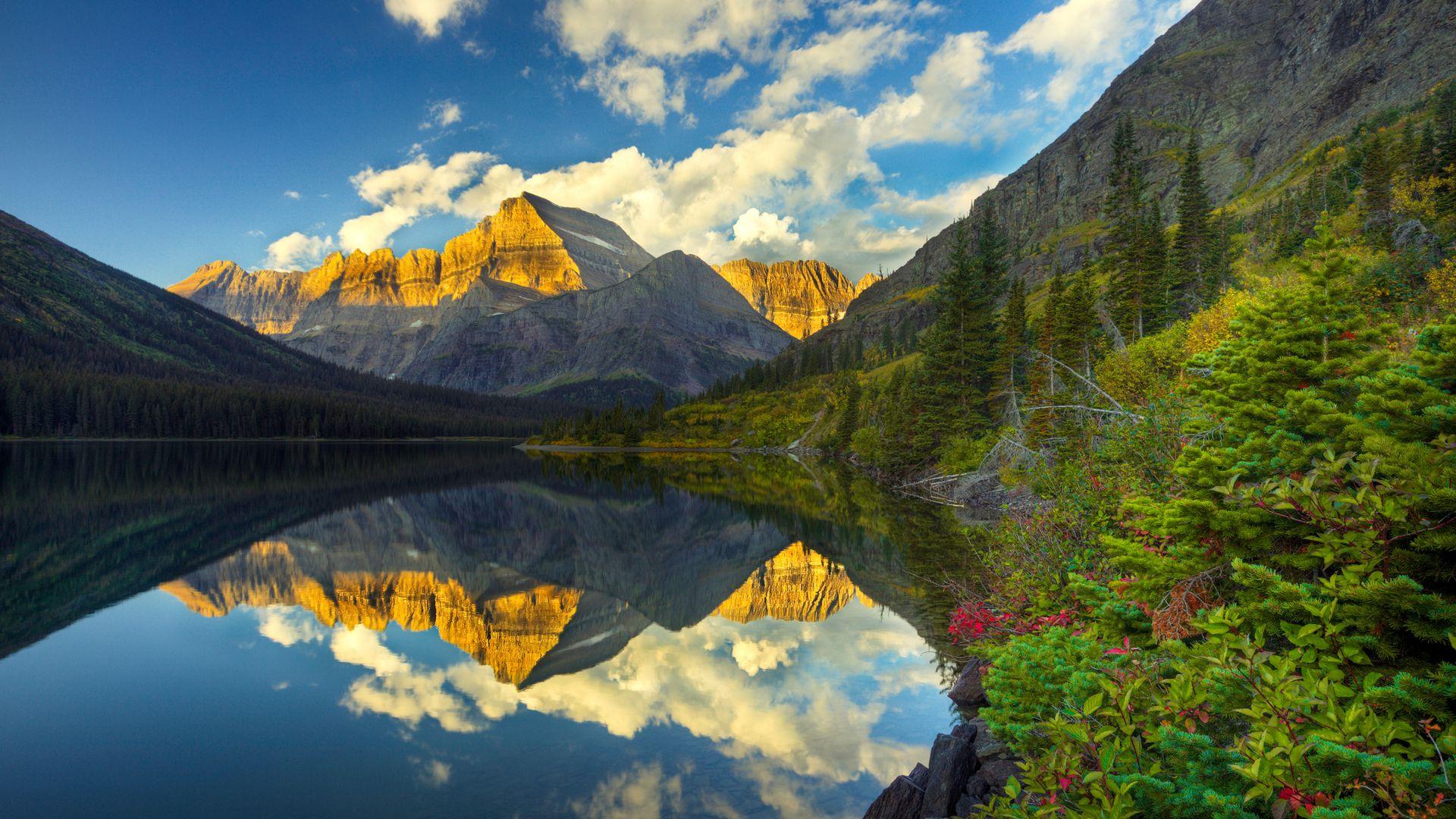 Mount Gould in Glacier National Park, Montana.