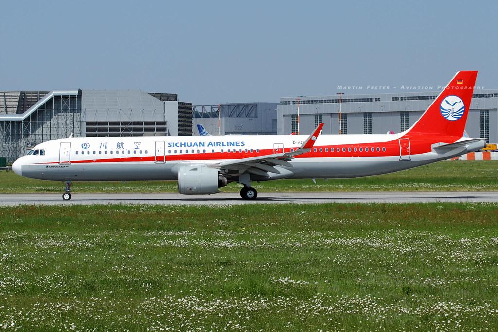 D-AZAX // Sichuan Airlines // A321-271N // MSN 7895 // B-8682