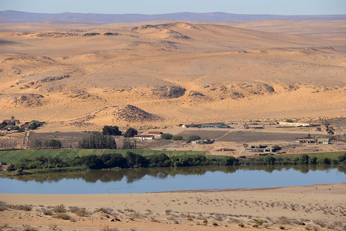 Orange River, a view from Namibia side