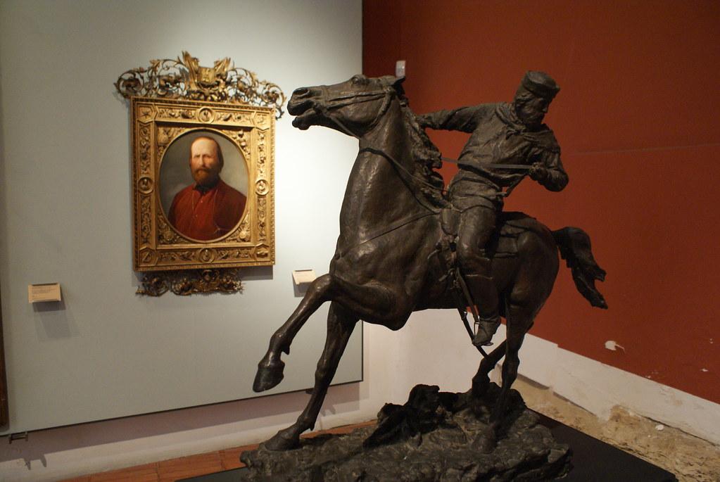 Garibaldi sous toutes ses formes au Musée du GAM à Palerme.