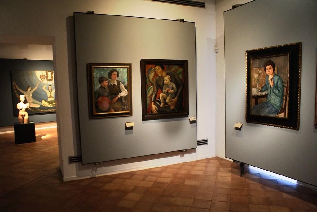 Beaux Arts : Musée du GAM à Palerme.