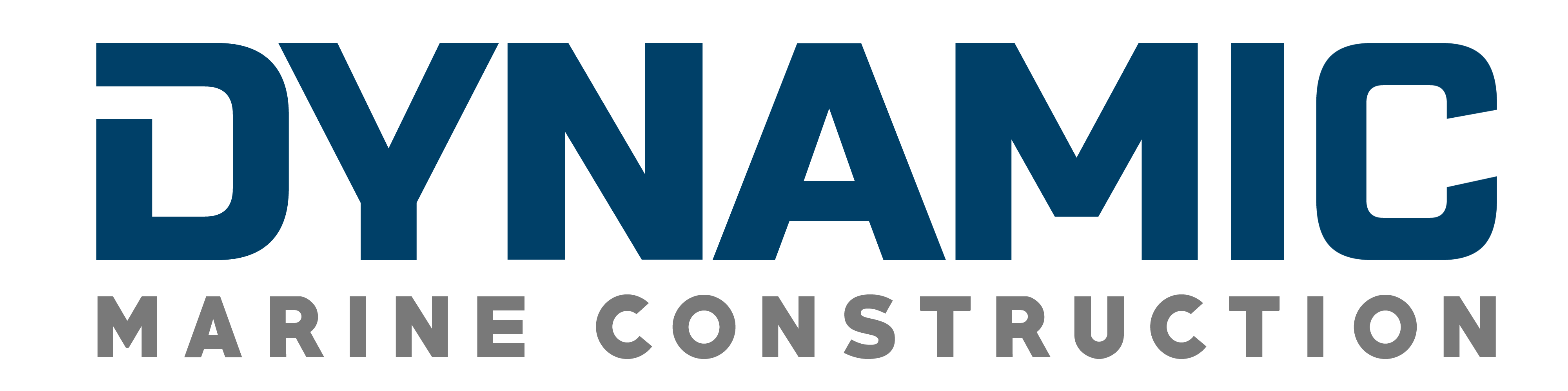 Dynamic Marine Logo