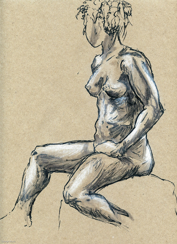 Figure Drawing - Sandy Hill-3