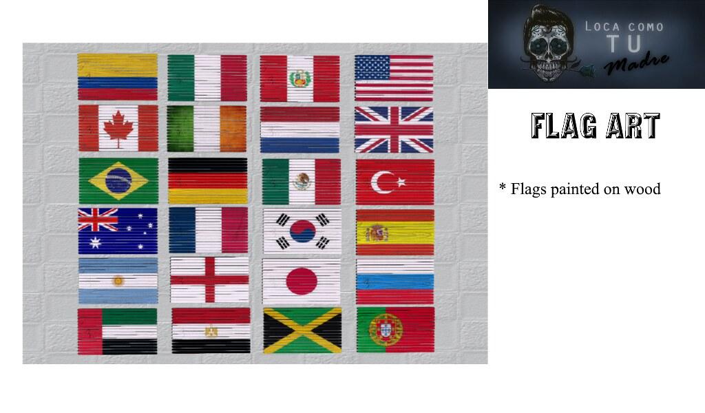 Flag Art - TeleportHub.com Live!