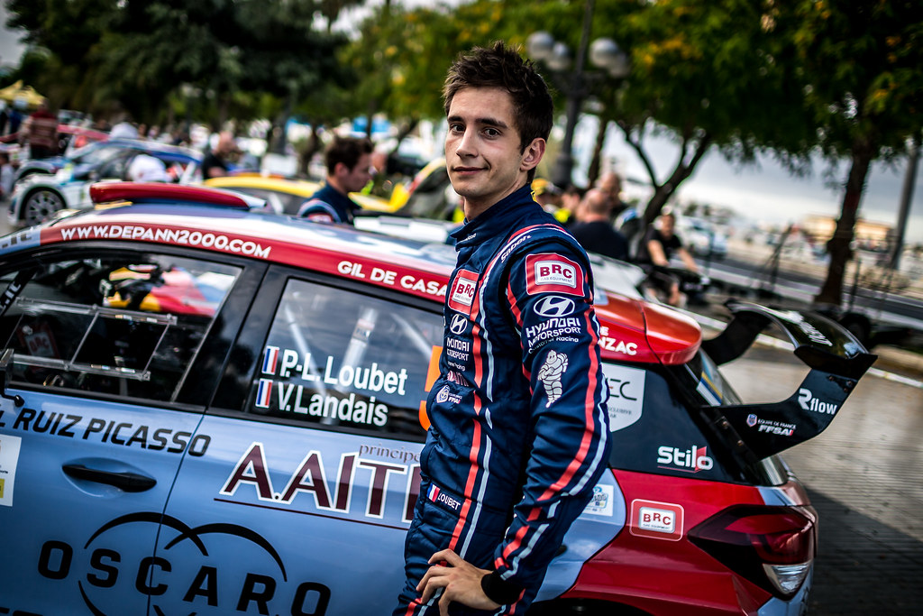 LOUBET Pierre louis (fra), BRC RACING TEAM, HYUNDAI I20 R5, portrait during the 2018 European Rally Championship ERC Rally Islas Canarias, El Corte Inglés,  from May 3 to 5, at Las Palmas, Spain - Photo Thomas Fenetre / DPPI