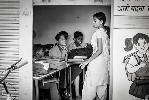Fenêtre pour le future...Shantindia School India.