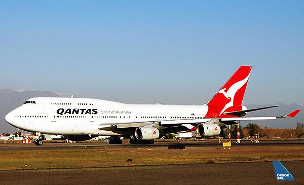 Qantas B747-400 (RD)
